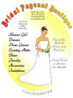 Corel Draw Bridal Flyer