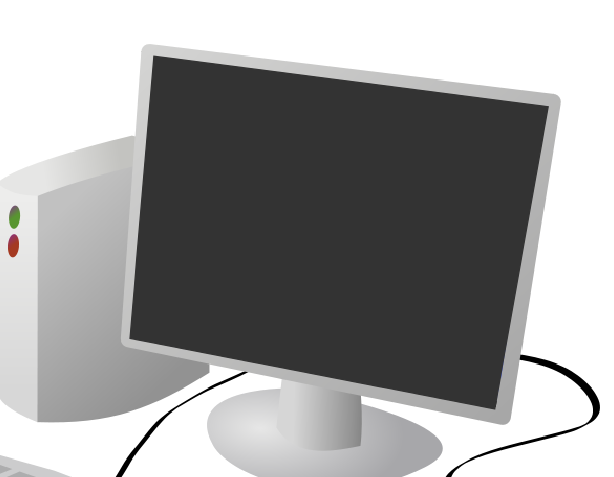 Corel Draw X5 Gray Monitor with Nodes