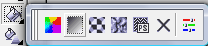 Corel Draw Fountain Fill Menu Bar