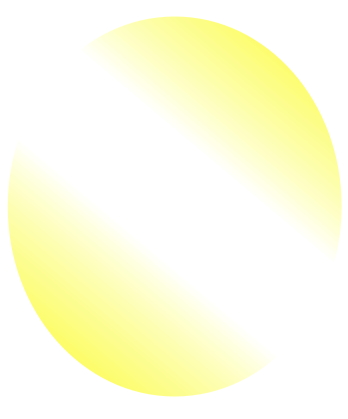Corel Draw Gradient Filled Oval with No Outline