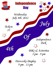 4th of July Independence Day Flyer Template | FlyerTutor.com