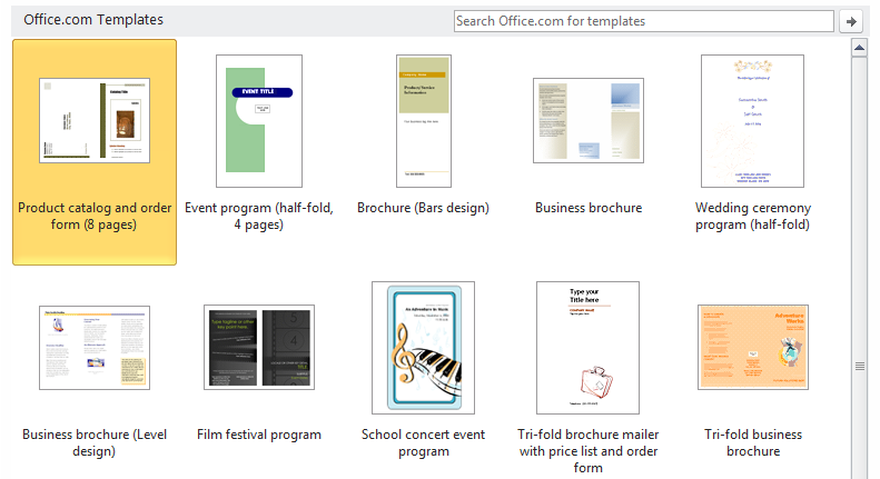 microsoft word templates for brochures - how to mini tutorials in inkscape corel draw adobe