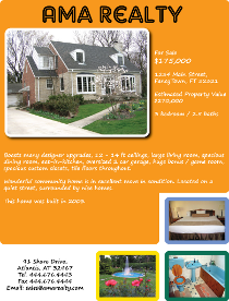 Realty Flyer Template