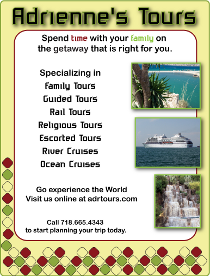 Adrienne's Tours Flyer Template