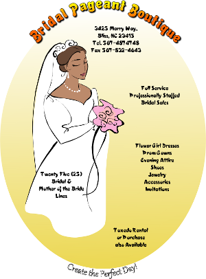 Inkscape Bridal Pageant Boutique Flyer
