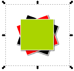 Inkscape 3 Grouped Rectangles