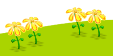 Inkscape Duplicated Yellow Flowers