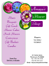Flower Shop Flyer Template 2