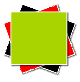 Inkscape Green Rectangle Above Others