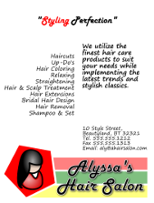 Hair Salon Flyer Template | FlyerTutor.com