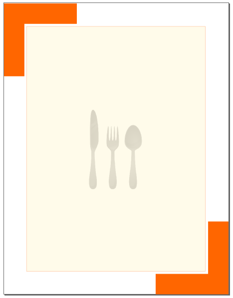 Inkscape Restaurant Background To Back
