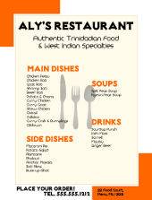 Inkscape Restaurant Flyer