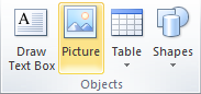 Microsoft Publisher 2010 Objects Group Picture Icon