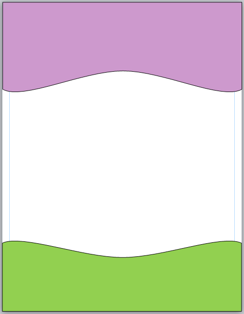 Microsoft Publisher 2010 Shape with Fill Colors