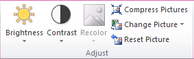 Microsoft Publisher 2010 Disabled Recolor Icon