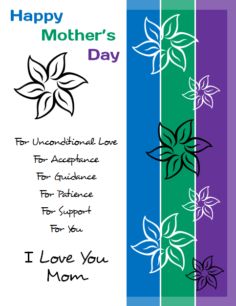 Microsoft Publisher 2010 Mother's Day Flyer 3