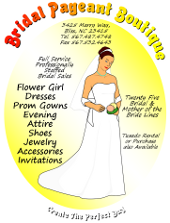 Microsoft Word Bridal Boutique Flyer