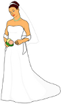 Royalty Free Clker Bride Image