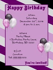 Happy Birthday Flyer Template | FlyerTutor.com