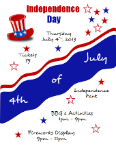 4th of July Independence Day Flyer Microsoft Word Tutorial | FlyerTutor.com