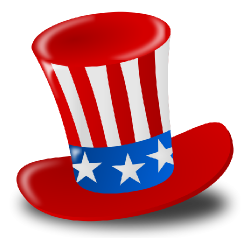 Open Clip Art Library - Independence Day Hat Clipart