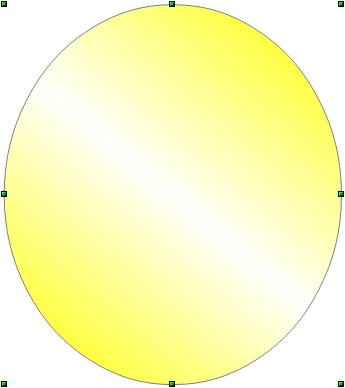 OpenOffice Draw Gradient Filled Ellipse