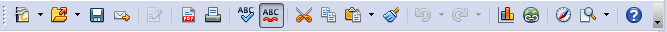 OpenOffice Draw 4.0 Standard Toolbar