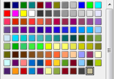 OpenOffice Draw 4.0 New Colors Added