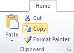 Microsoft Publisher 2010 Clipboard Group Copy Icon