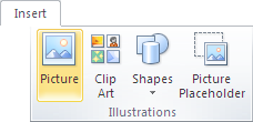 Microsoft Publisher 2010 Illustrations Group Picture Icon