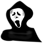 OpenClipart Library Scream Mask Image