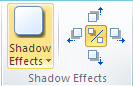 Microsoft Publisher 2010 Shadow Effects Icon
