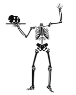 OpenClipart Library Skeleton Image