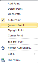 Microsoft Publisher 2010 Smooth Point