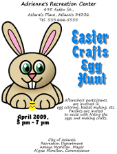 Easter Egg Hunt Flyer Template | FlyerTutor.com
