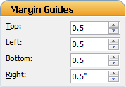 Microsoft Publisher Margin Guides