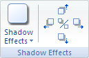 Microsoft Word 2007 Shadow Effects Group